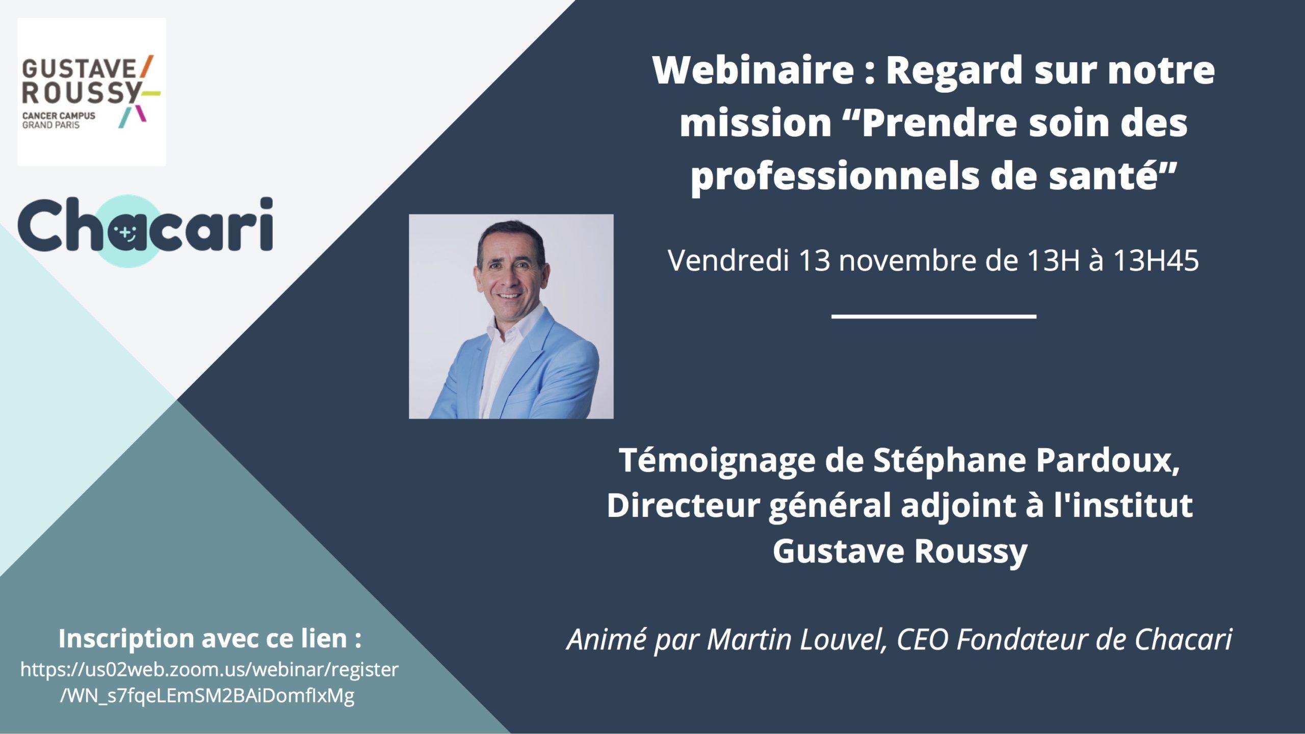 Webinaire Stephane Pardoux